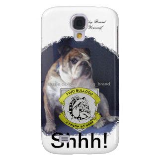 Two Bulldog Brand Shhh! iPhone 3 Case