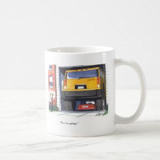 Two Car Garage Coffee Mug