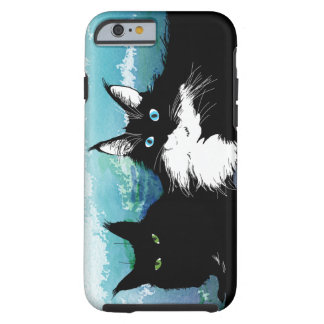 Two cats phone case