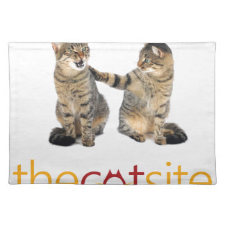 Two cats placemat