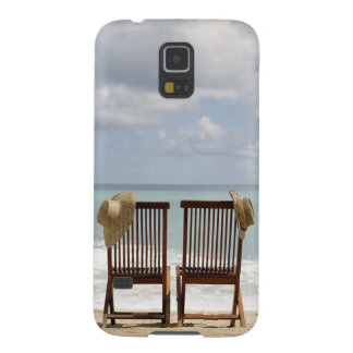 Two Chairs On Beach   Barbados Galaxy S5 Case