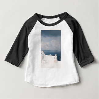 Two chairs on Santorini island Baby T-Shirt