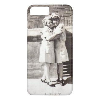 Two Chefs Hug c 1929 Vintage Photograph iPhone 8 Plus/7 Plus Case