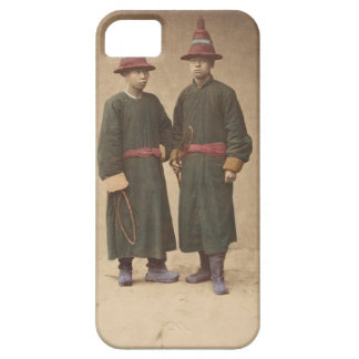 Two Chinese Men in Matching Traditional Dress iPhone 5 Case