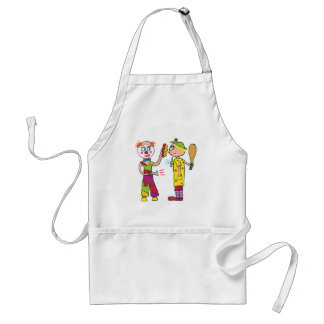 Two Circus Clowns Standard Apron