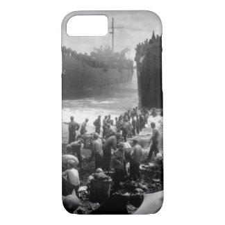 Two Coast Guard-manned LST's open_War Image iPhone 7 Case