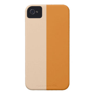 Two Color Block Art iPhone 4 Case