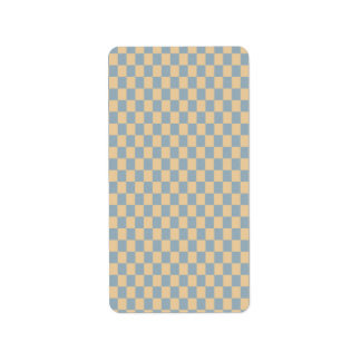 Two colored square pattern