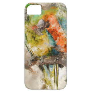 Two Colorful Macaws iPhone 5 Cover