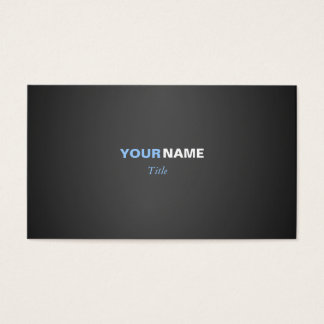 Two Colors Business Card