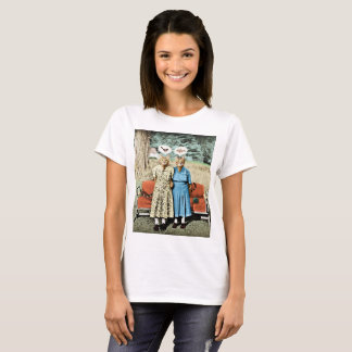 Two Cool Kitties_Whats for Lunch? Womans Tee Shirt