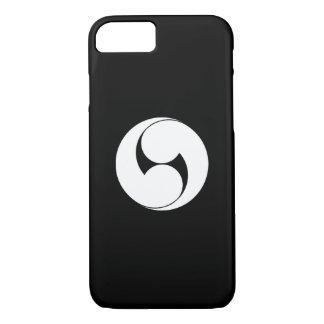 Two counterclockwise swirls (Jinuki) iPhone 8/7 Case