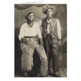 Two Cowboys Birthday Card
