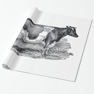 Two Cows Wrapping Paper