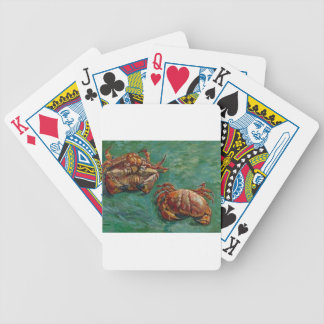 Two Crabs by Vincent van Gogh Bicycle Playing Cards