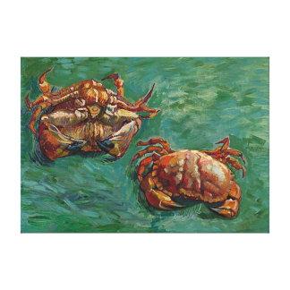 Two Crabs (F606) Van Gogh Fine Art Canvas Print