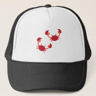 Two Crabs Trucker Hat