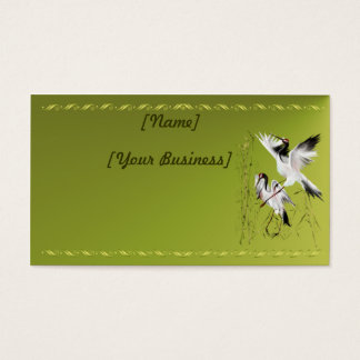 Two Cranes In Bamboo profilecard_business_horiz... Business Card