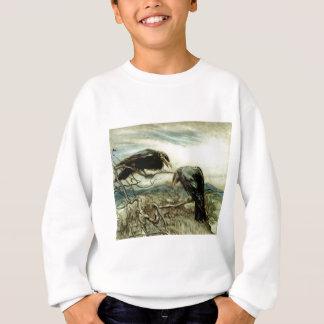 Two Crows Illustration Sweatshirt