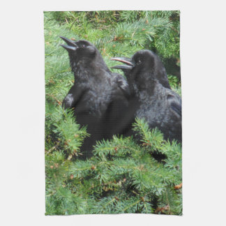 Two Crows Kitchen Towel