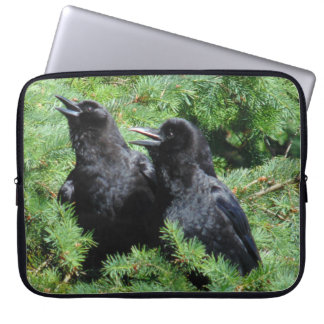 Two Crows Laptop Sleeve