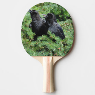 Two Crows Ping Pong Paddle