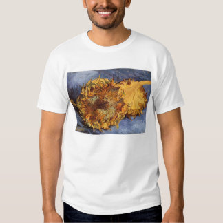 Two Cut Sunflowers by Vincent van Gogh Shirt