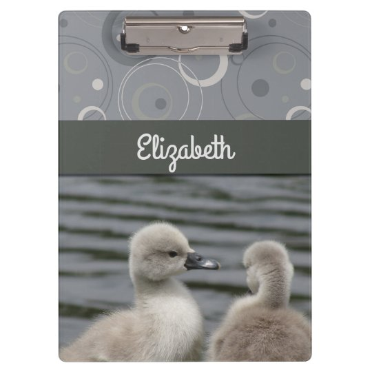 Two Cygnets Clipboard