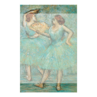 Two Dancers by Edgar Degas Flyer
