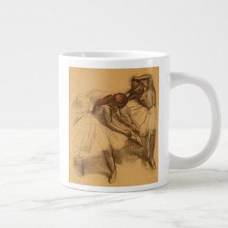 Two Dancers Large Coffee Mug