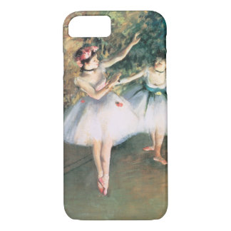 Two Dancers on a Stage by Edgar Degas, Vintage Art iPhone 8/7 Case