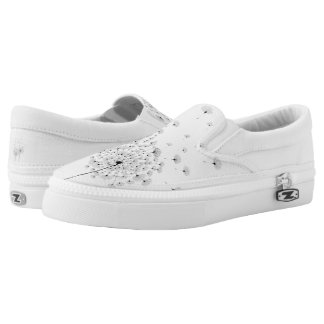 Two Dandelion Slip-On Sneakers