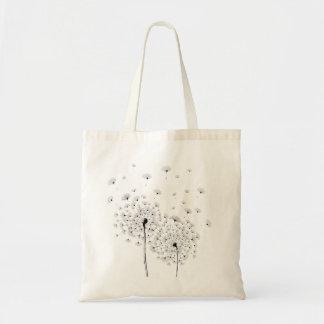 Two Dandelion Tote Bag