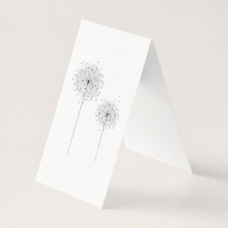 Two Dandelions Business Card
