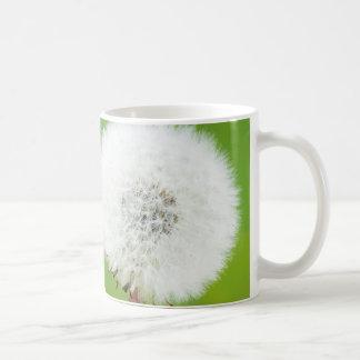 Two dandelions coffee mug