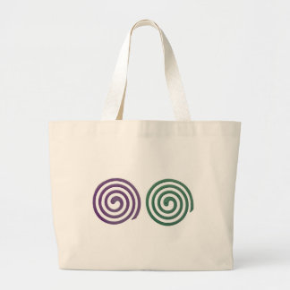 Two different scented mosquito coils large tote bag