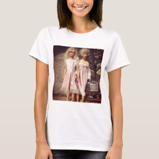 Two Dolls Looking for A New Home Photo T-Shirt