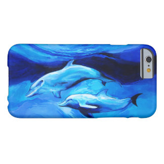 """""""Two dolphins"""" iPhone 6/6s, Barely There Barely There iPhone 6 Case"""