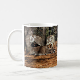 Two Donkeys Coffee Mug