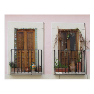 Two Doorways in Toledo, Spain Postcard