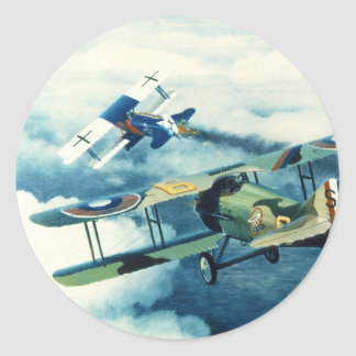 Two Down to Glory by William S. Phillips Classic Round Sticker