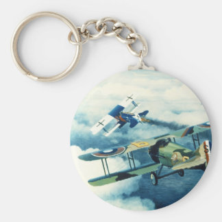 Two Down to Glory by William S. Phillips Key Chain