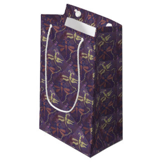 two dragonflies gift bag