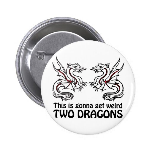 Two Dragons Button