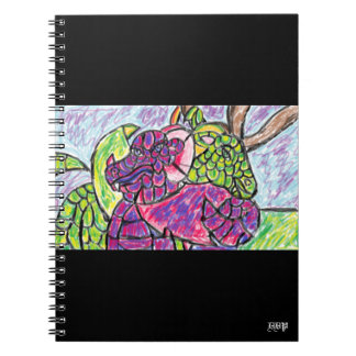 two dragons lover notebooks