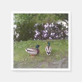 Two Ducks Napkin