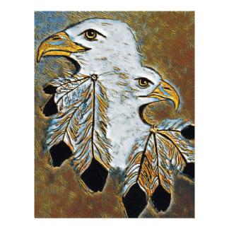 Two Eagles Letterhead
