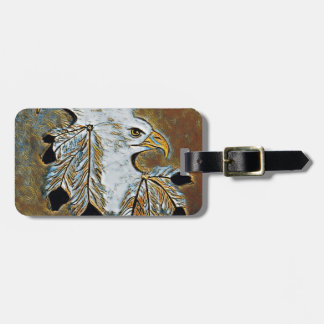 Two Eagles Luggage Tag
