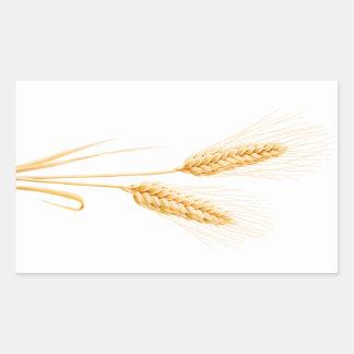 Two ears of wheat sticker
