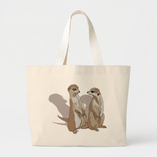 two earth males with shade large tote bag